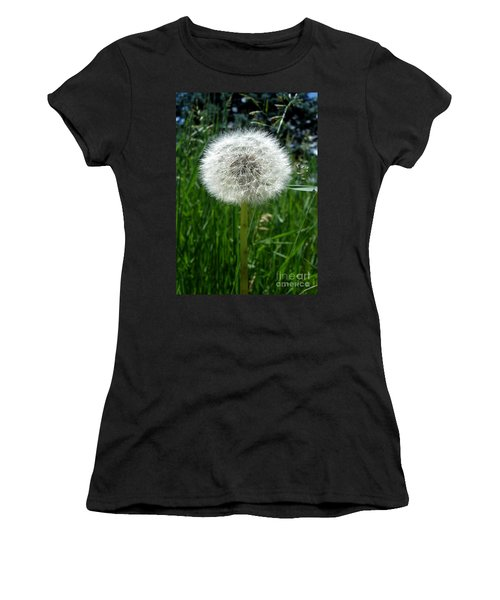 Dandelion Fluff Women's T-Shirt (Athletic Fit)