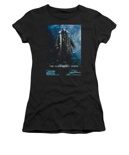 Dark Knight Rises - Bane Poster Women's T-Shirt (Athletic Fit)
