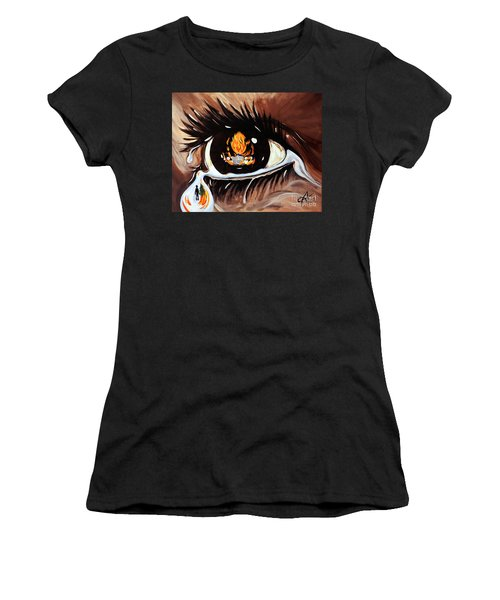Dark Sorrow  Women's T-Shirt (Athletic Fit)