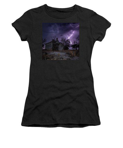 Dark Stormy Place Women's T-Shirt