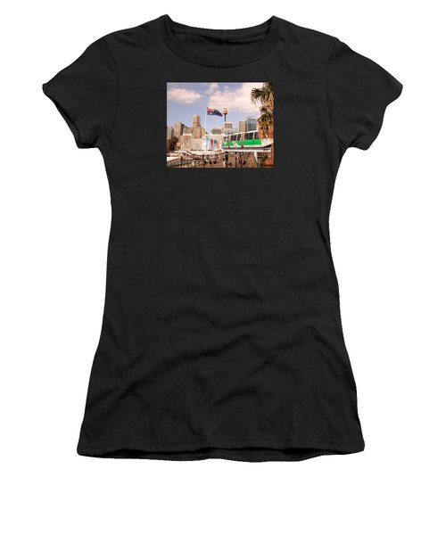Darling Harbor Women's T-Shirt (Athletic Fit)