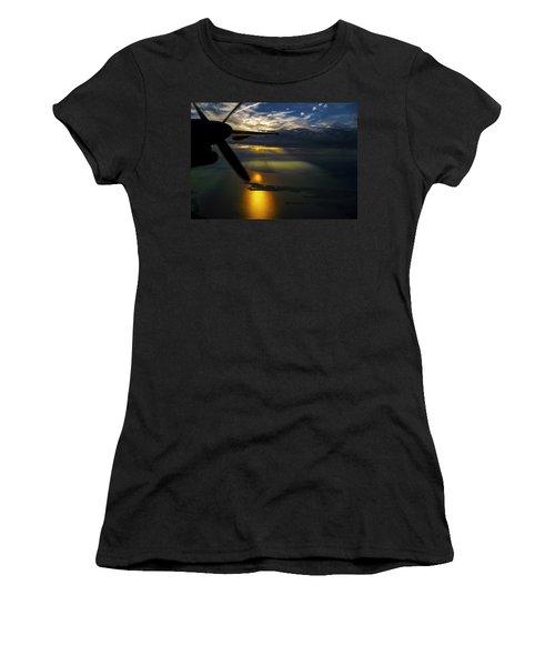 Dash Of Sunset Women's T-Shirt (Junior Cut) by Greg Reed