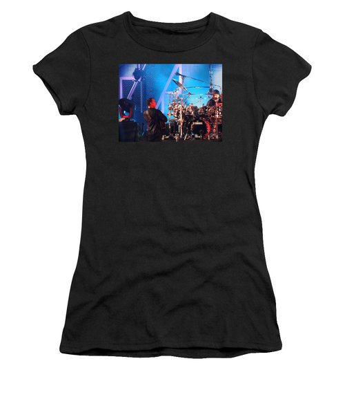 Women's T-Shirt (Junior Cut) featuring the photograph Dave Looks At Carter by Aaron Martens