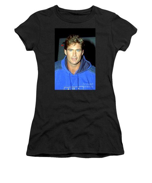 David Hasselhoff 1991 Women's T-Shirt (Athletic Fit)