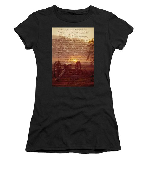 Dawn At Gettysburg Women's T-Shirt