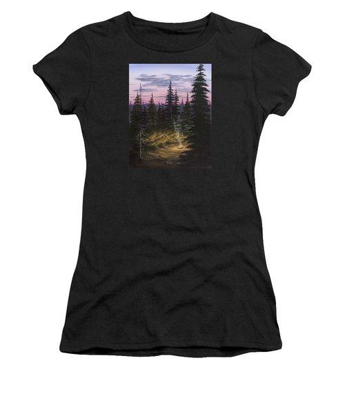 Dawn Fire Women's T-Shirt (Junior Cut) by Jack Malloch