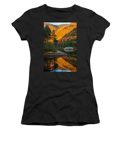 Dawns Foliage Reflection Women's T-Shirt