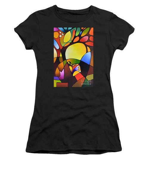 Daydream Canvas Three Women's T-Shirt (Athletic Fit)