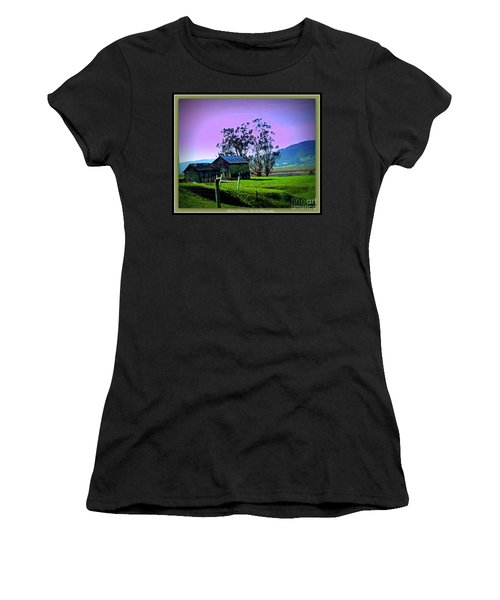 Women's T-Shirt (Junior Cut) featuring the photograph Days Gone By by Bobbee Rickard