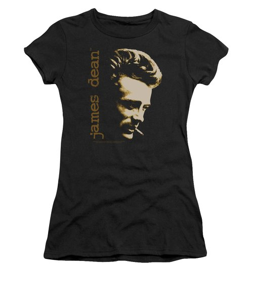 Dean - Smoke Women's T-Shirt (Junior Cut) by Brand A