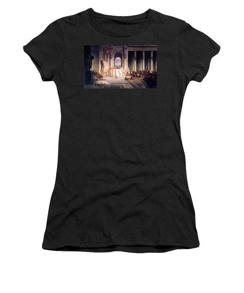 Death Of Caesar Women's T-Shirt