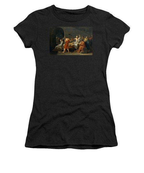 Death Of Socrates Women's T-Shirt