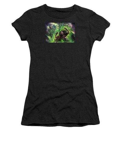 Death's Presence Women's T-Shirt (Athletic Fit)
