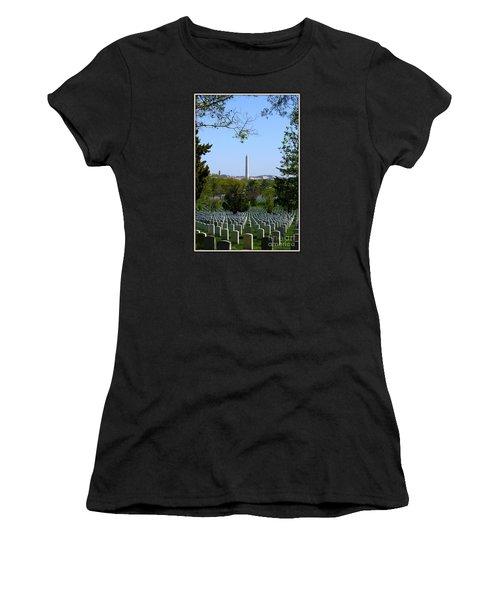 Debt Of Gratitude Women's T-Shirt (Junior Cut) by Patti Whitten