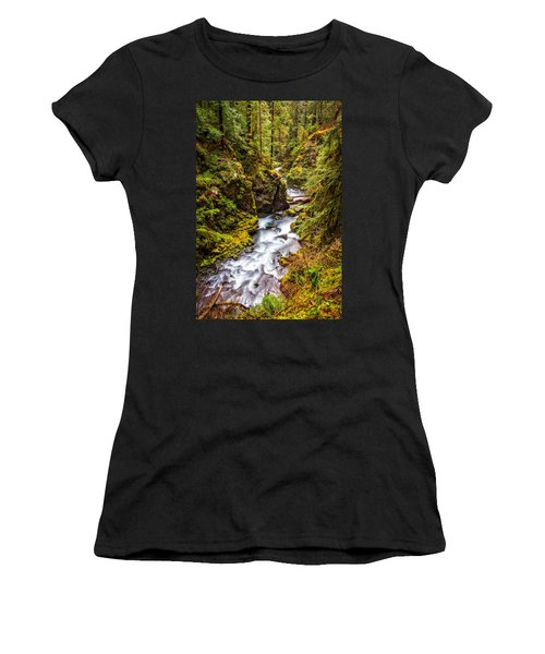 Deep In The Forest Women's T-Shirt (Athletic Fit)