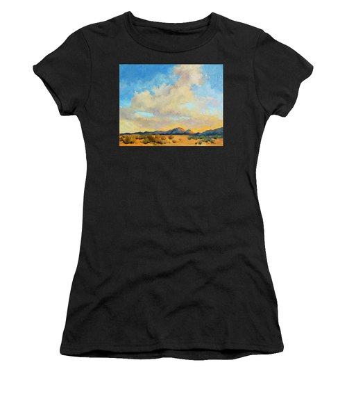 Desert Clouds Women's T-Shirt (Athletic Fit)