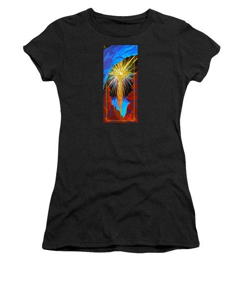 Desert Star  Women's T-Shirt (Athletic Fit)
