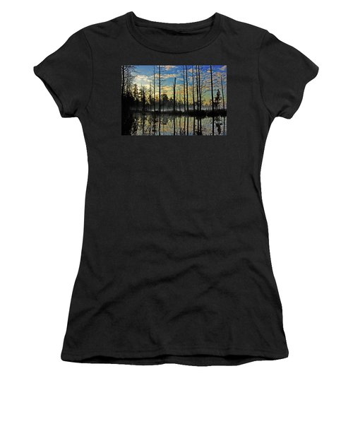 Devils Den In The Pine Barrens Women's T-Shirt
