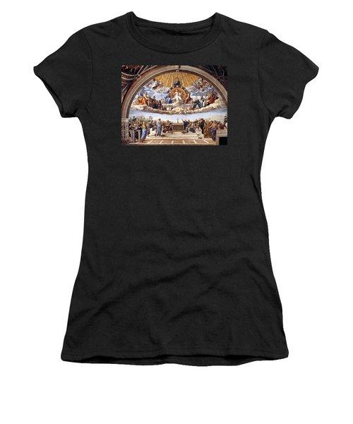 Disputation Of The Eucharist  Women's T-Shirt
