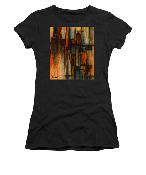 Divergence Women's T-Shirt (Athletic Fit)