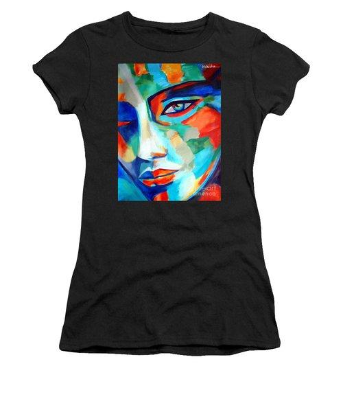 Divine Consciousness Women's T-Shirt (Athletic Fit)