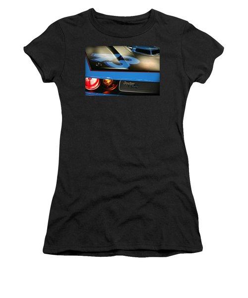 Women's T-Shirt (Junior Cut) featuring the photograph Dodge By Petty by Gordon Dean II