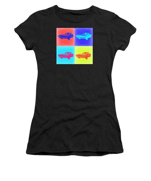 Dodge Charger Pop Art 1 Women's T-Shirt