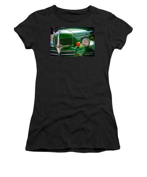 Dodge Truck Women's T-Shirt (Junior Cut) by Les Palenik