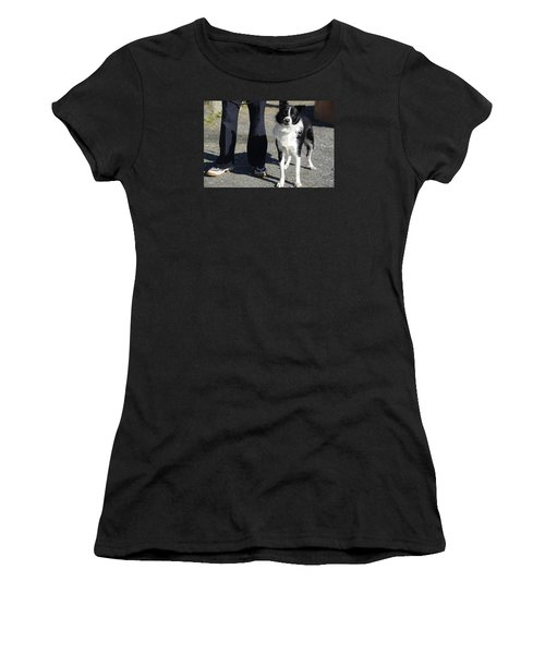 Dog And True Friendship 9 Women's T-Shirt (Athletic Fit)