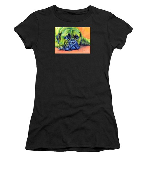 Dog Tired Women's T-Shirt (Athletic Fit)