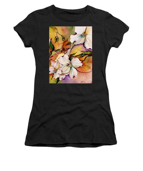 Dogwood In Spring Colors Women's T-Shirt