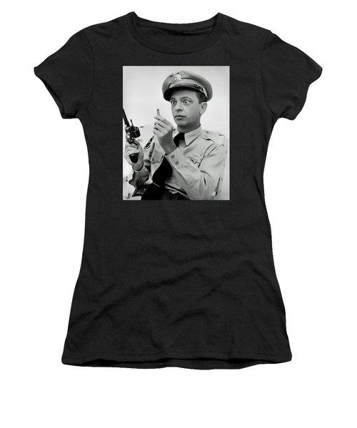 Barney Fife - Don Knotts Women's T-Shirt (Athletic Fit)