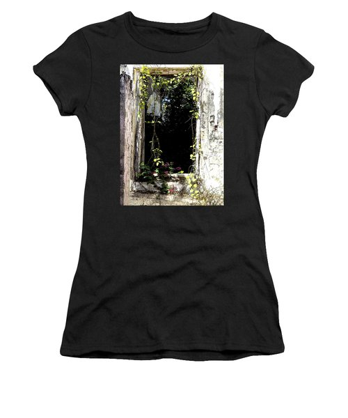Doorway Delights Women's T-Shirt (Junior Cut) by Anne Mott