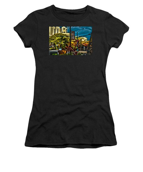Down On Main Street Women's T-Shirt (Athletic Fit)