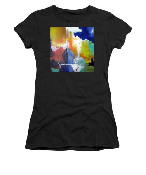 Down The Hudson Women's T-Shirt (Athletic Fit)