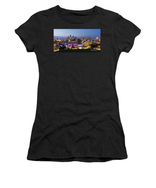 Downtown Kc At Night Women's T-Shirt