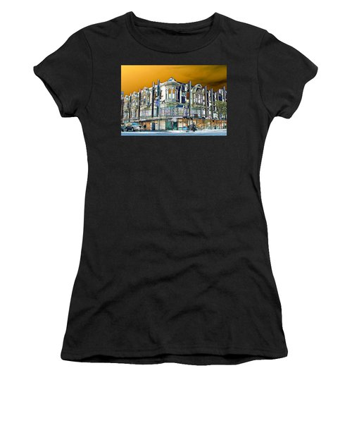 Downtown Los Angeles Corner Facade Women's T-Shirt (Athletic Fit)