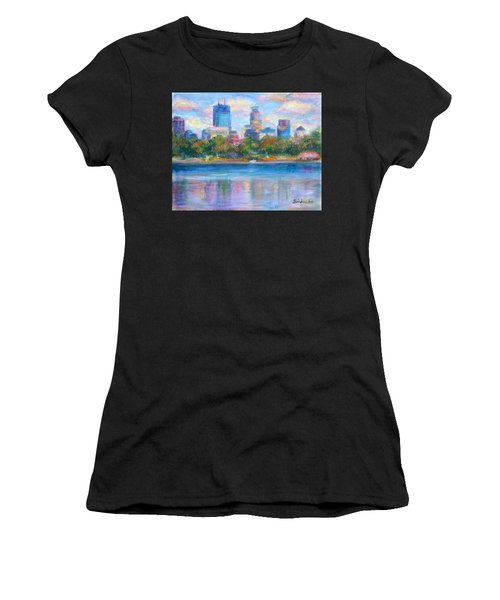 Downtown Minneapolis Skyline From Lake Calhoun Women's T-Shirt