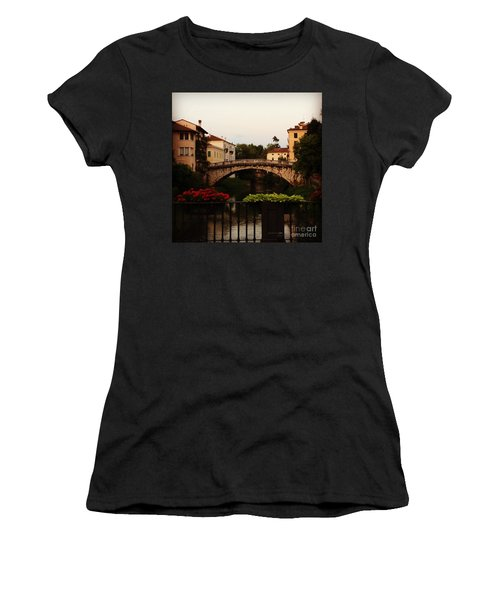 Downtown Vicenza Women's T-Shirt (Athletic Fit)