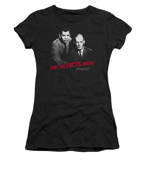 Dragnet - Just The Facts Women's T-Shirt (Athletic Fit)