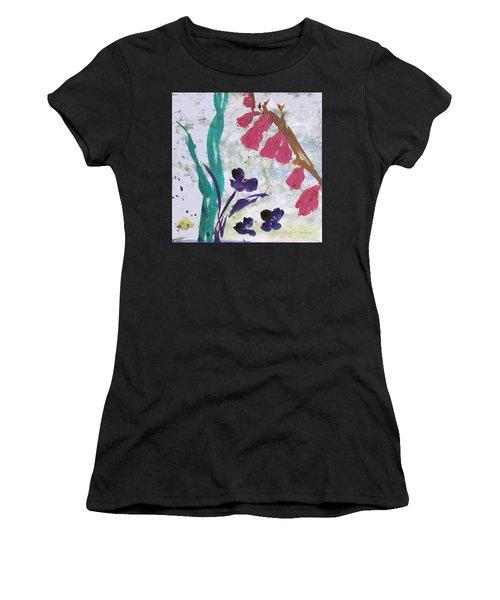 Dreamy Day Flowers Women's T-Shirt