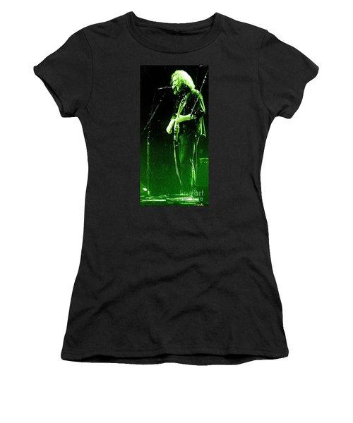 Women's T-Shirt (Junior Cut) featuring the photograph Dressed Myself In Green  by Susan Carella