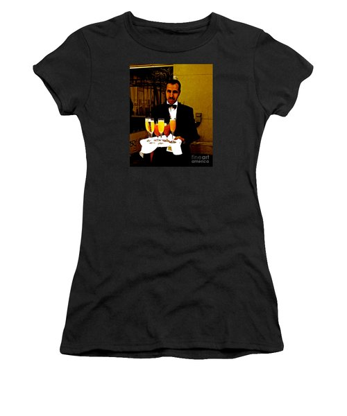 Drinks Anyone? Women's T-Shirt (Athletic Fit)