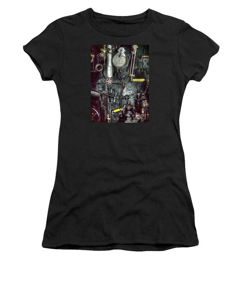 Driving Steam Women's T-Shirt (Athletic Fit)