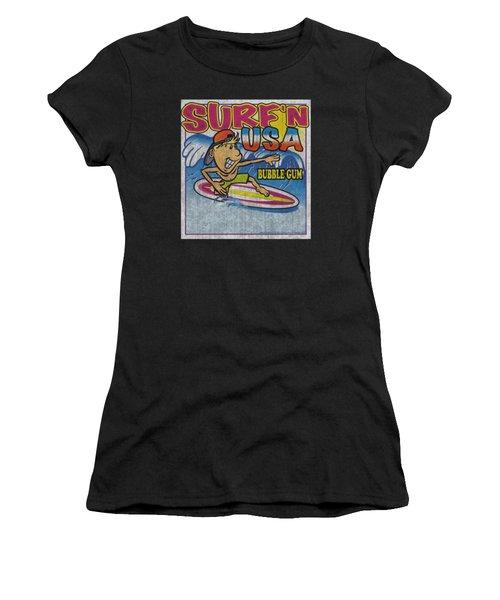Dubble Bubble - Surfn Usa Gum Women's T-Shirt