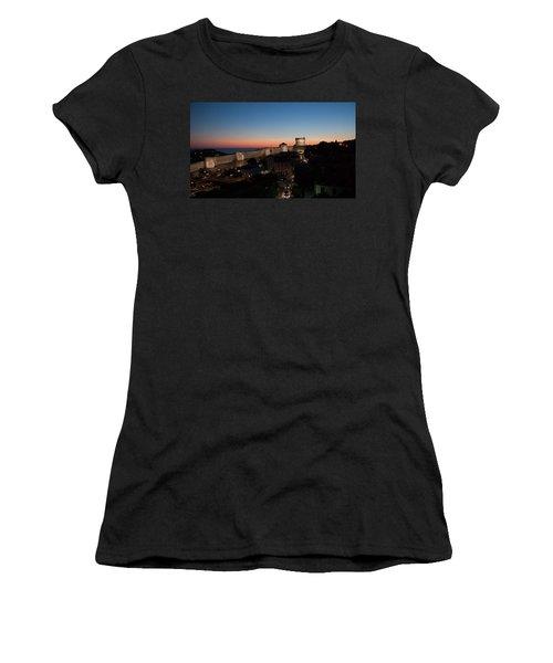 Dubrovnik Women's T-Shirt (Junior Cut) by Silvia Bruno
