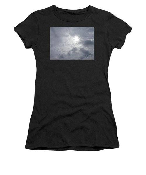 Duck In Beautiful Sky Women's T-Shirt