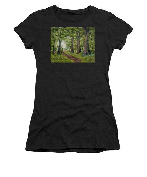 Duff House Walk Women's T-Shirt (Athletic Fit)