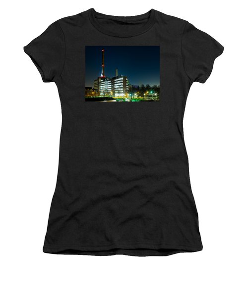 Duisburg Thyssen Krupp Factory Apostel Street Women's T-Shirt (Athletic Fit)