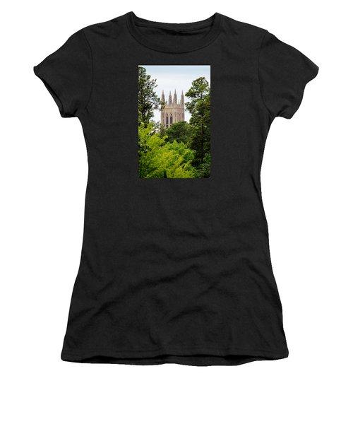 Duke Chapel Women's T-Shirt (Junior Cut) by Cynthia Guinn